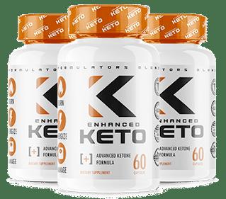 Pilules Enhanced Keto