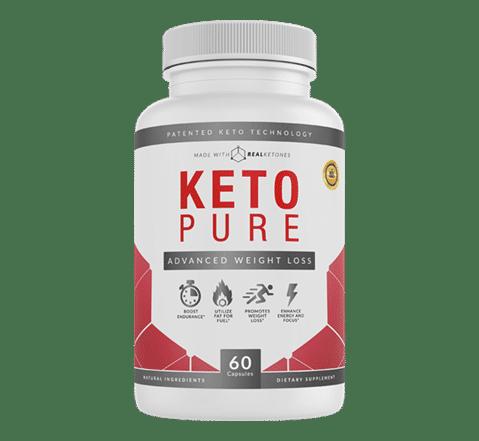 Flacon de  Keto Pure