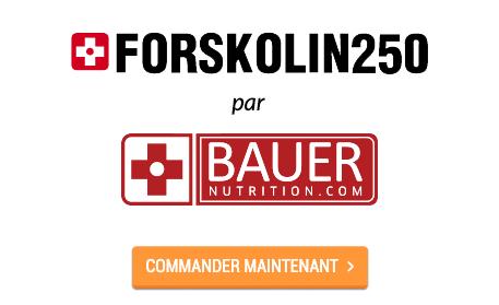Forskolin 250 par Bauer Nutrition