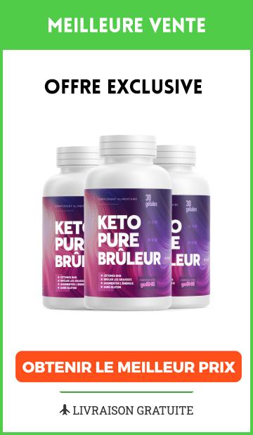 Promotion Keto Pure Brûleur