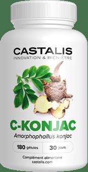 C-Konjac de la marque Castalis