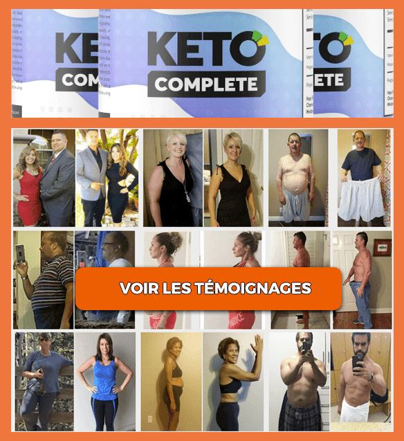 Résultats et avis sur Keto Complete