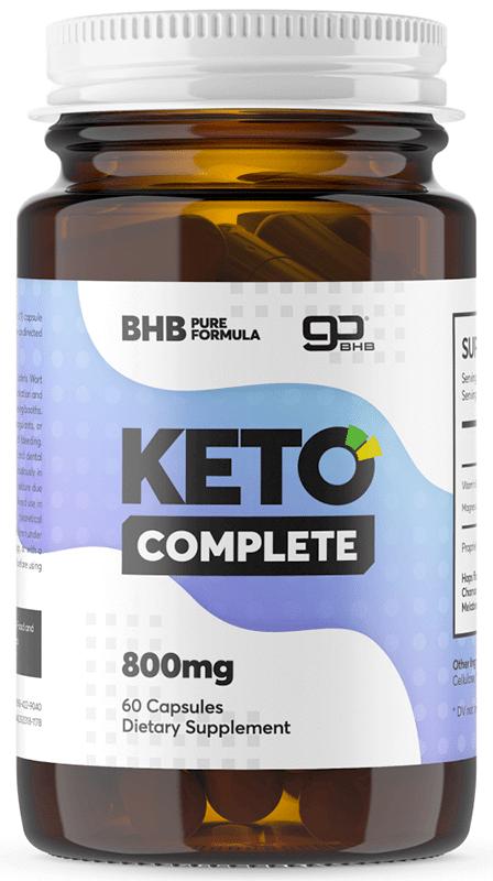 Flacon de comprimés Keto Complete