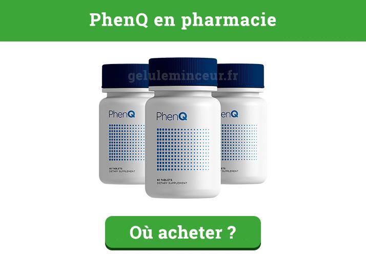 PhenQ en pharmacie : où l'acheter ?