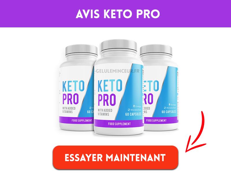 Avis sur Keto Pro