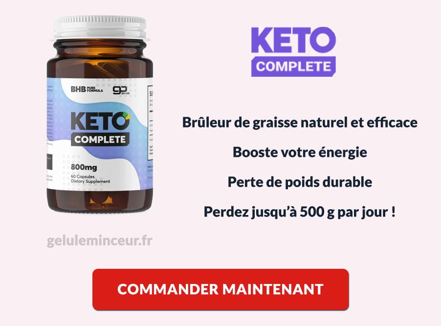 Les avantes de Keto Complete