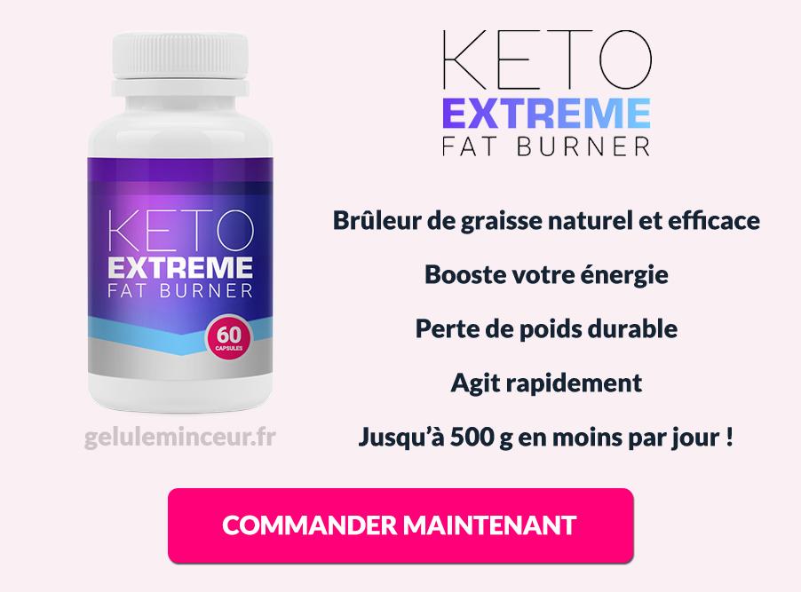 Avantages et bénéfices de Keto Extreme Fat Burner