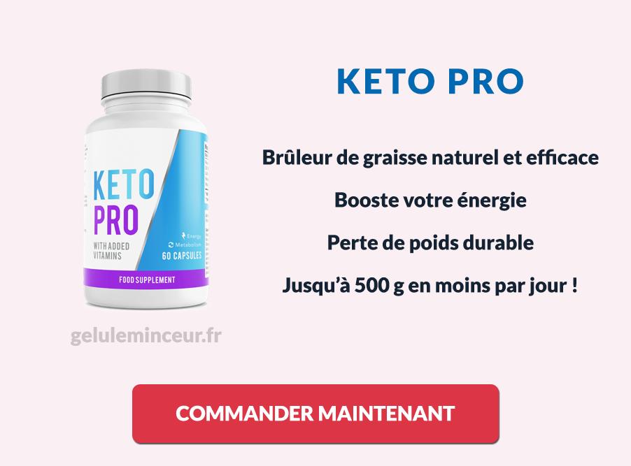 Les avantages de Keto Pro