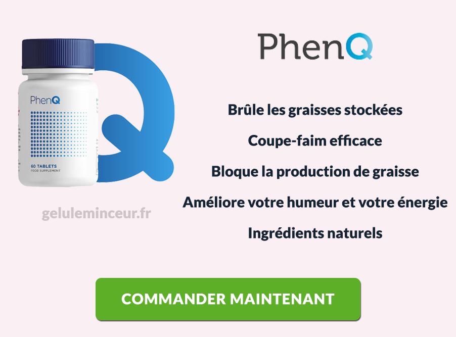 Avantages et bénéfices de PhenQ