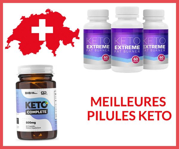 Les Meilleures Pilules Keto disponibles en Suisse