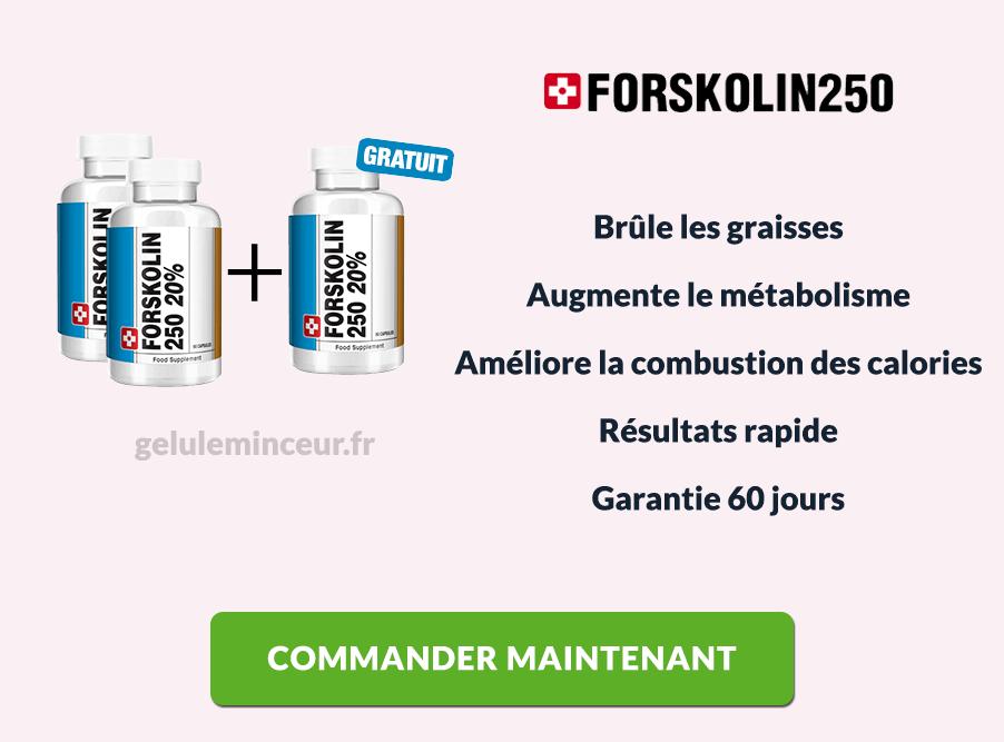 Les avantages de Forskolin 250