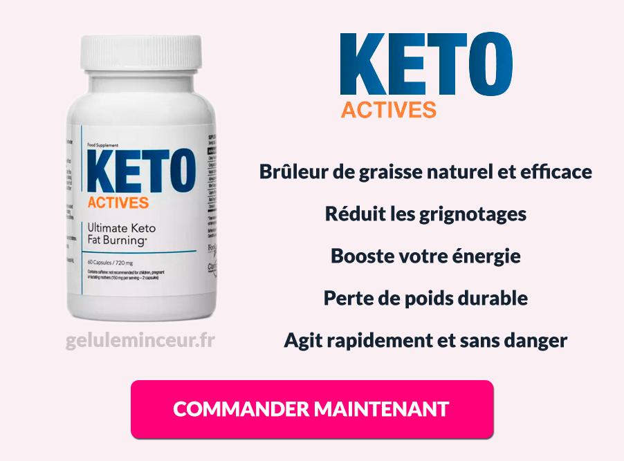 Avantages et bénéfices de Keto Actives