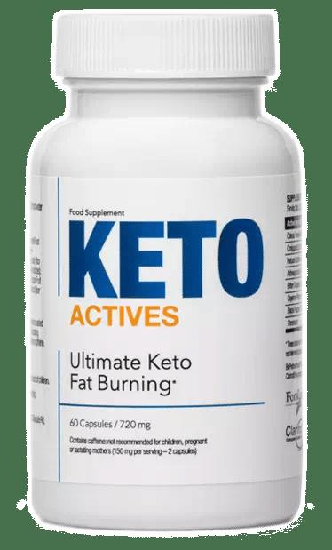 Flacon de Keto Actives