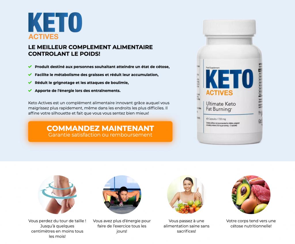 Site officiel de Keto Actives