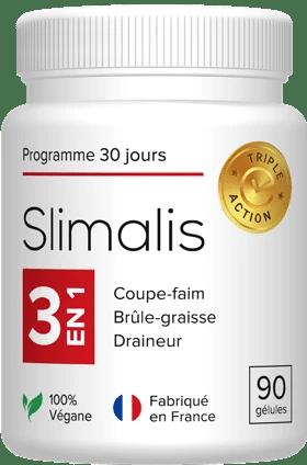 Flacon de 90 gélules Slimalis