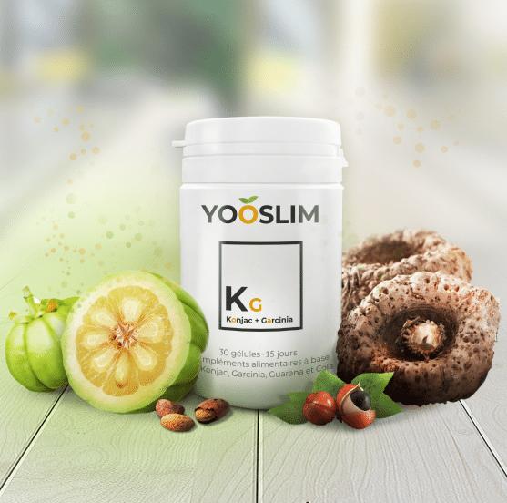 Complément alimentaire Yooslim à base de Konjac